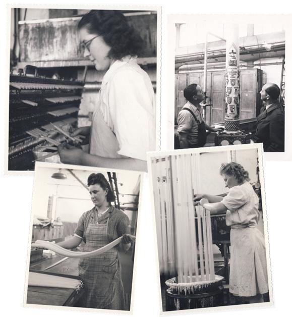 Images d'archives de la société La Boite à Bougies