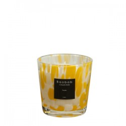 Bougie parfumée Baobab Collection - Max One Citrine Pearls