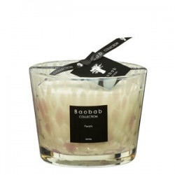 Bougie parfumée Baobab Collection - Max 10 White Pearls