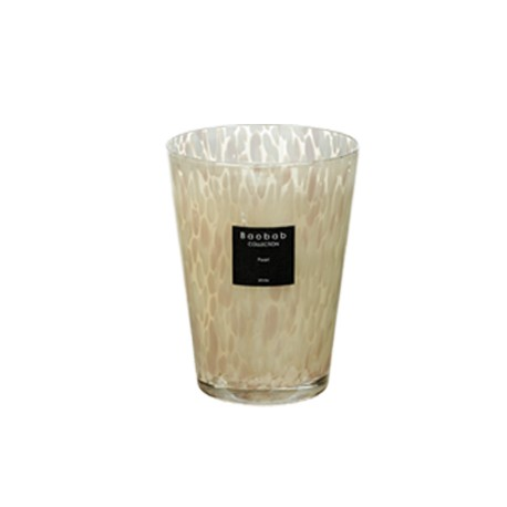 Bougie parfumée Baobab Collection - Max 24 White Pearls