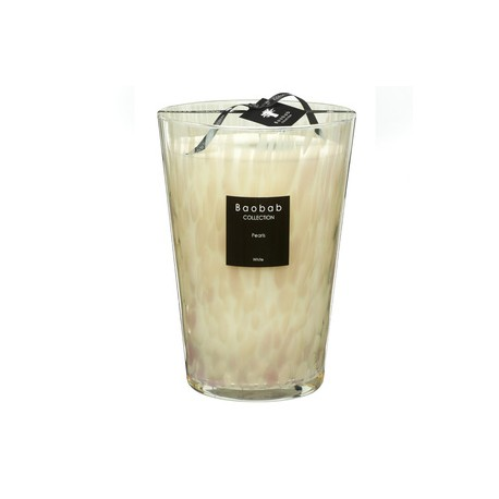 Bougie parfumée Baobab Collection - MaxiMax White Pearls