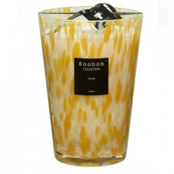 Bougie parfumée Baobab Collection - MaxiMax Citrine Pearls