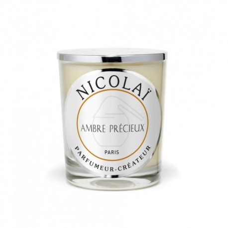 Bougie parfumée Nicolaï - Ambre Précieux