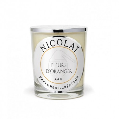 Bougie parfumée Nicolaï - Fleurs d'Oranger