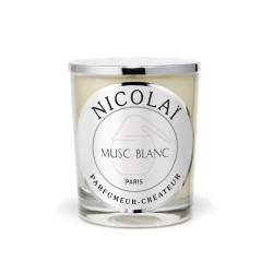 Bougie parfumée Nicolaï - Musc Blanc