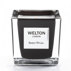 Welton London - Bougie parfumée Onyx Sweet Ritual