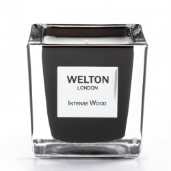 Welton London - Bougie parfumée Onyx Intense Wood