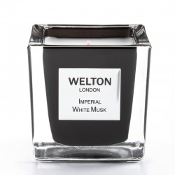 Welton London - Bougie parfumée Onyx Imperial White Musk
