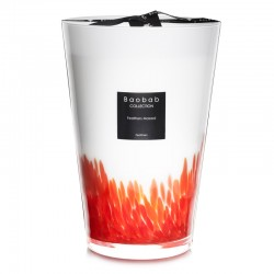 Bougie parfumée Baobab Collection - Maxi Max Feathers Masaai