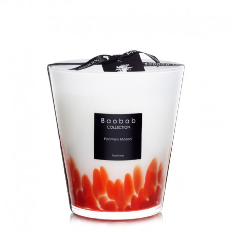 Bougie parfumée Baobab Collection - Max 16 Feathers Masaai