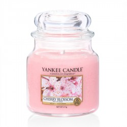 Yankee Candle - Jarre moyenne Cherry Blossom