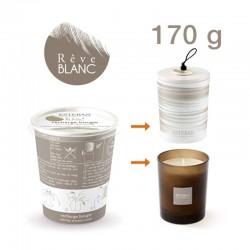 Estéban - Recharge pour bougie parfumée Rêve Blanc 170g