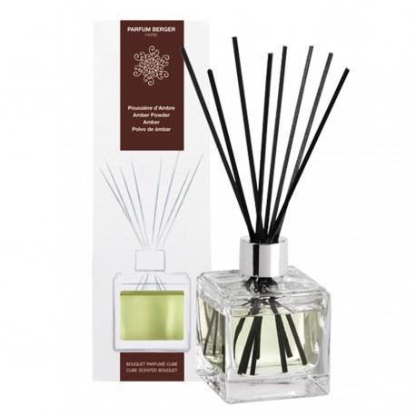 Parfum Berger - Bouquet parfumé cube Poussière d'Ambre