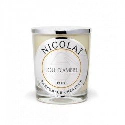 Bougie parfumée Nicolaï Foud d'ambre