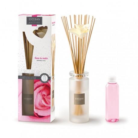 Estéban Paris - Bouquet parfumé Soliflore Rose du Matin