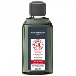 Parfum Berger - Recharge pour Bouquet parfumé Anti Odeur de Cuisine Vert et Zesté