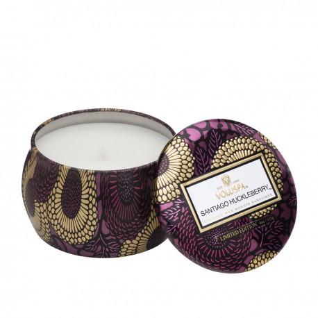 Voluspa - Mini-bougie parfumée Santiago Huckleberry