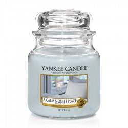 Yankee Candle - Jarre moyenne A calm and quiet place / Havre de paix