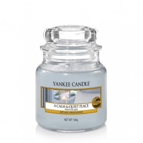Yankee Candle - Petite jarre A calm and quiet place / Havre de paix