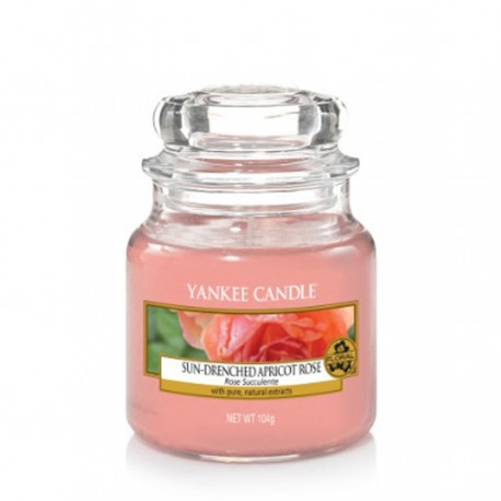 Yankee Candle - Petite Jarre Sun-drenched Apricot Rose / Rose succulente