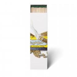 Cire Trudon - Allumettes parfumées Ernesto : Cuir et Tabac