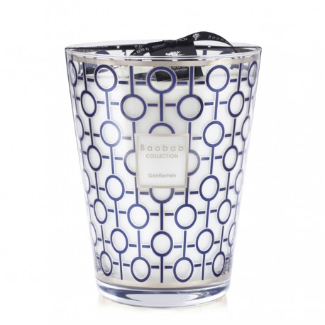 Bougie parfumée Baobab Collection - Max 24 Gentlemen
