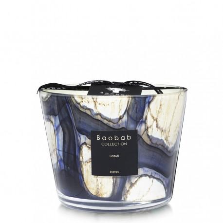 Bougie parfumée Baobab Collection - Max 10 Stones Lazuli