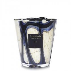 Bougie parfumée Baobab Collection - Maxi 16 Stones Lazuli