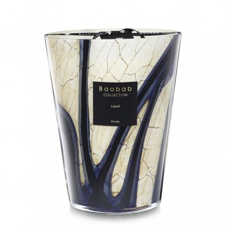 Bougie parfumée Baobab Collection - Maxi 24 Stones Lazuli