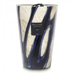 Bougie parfumée Baobab Collection - Maxi Max Stones Lazuli