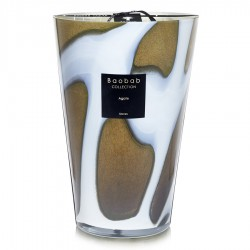 Bougie parfumée Baobab Collection - Maxi Max Stones Agate