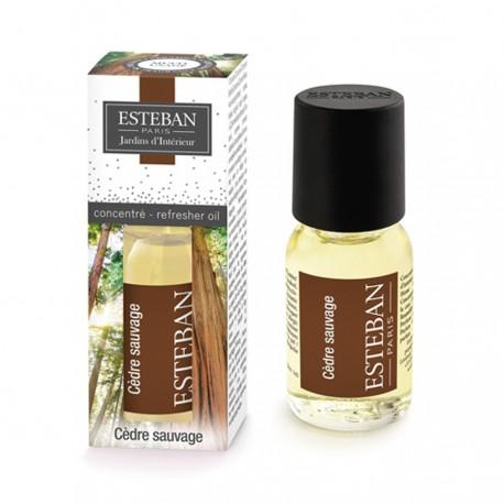 Estéban Paris - Concentré de parfum Cèdre sauvage