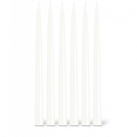 Bougies la Française - Bougies flambeaux Blanc