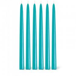 Bougies la Française - Bougies flambeaux Turquoise