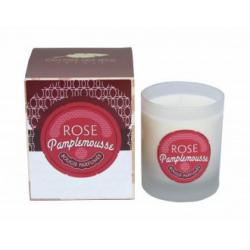 Bougie Spiritueux Rosé Pamplemousse