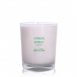 Bougie parfumée Citron basilic