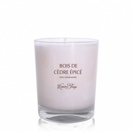 Bougie parfumée Bois de Cèdre Épicé