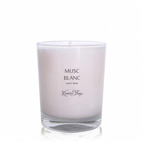 Les Lumières du Temps - Bougie parfumée Musc blanc