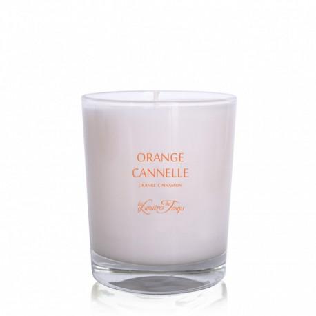 Les Lumières du Temps - Bougie parfumée Orange Cannelle