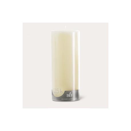 Bougies cylindriques couleur 125H Ivoire