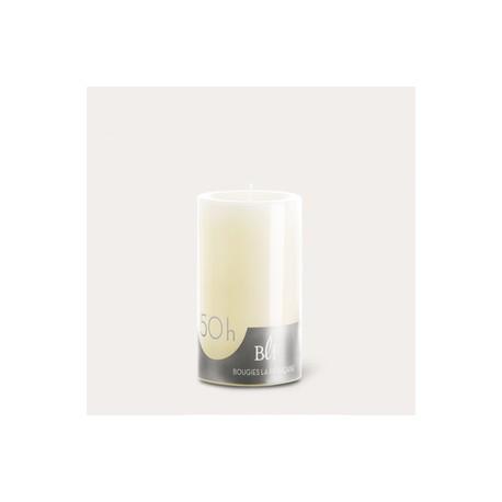 Bougies cylindriques couleur 50H Ivoire