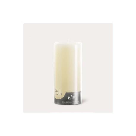 Bougies cylindriques couleur 75H Ivoire