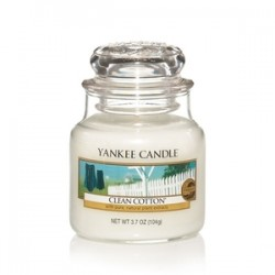 Yankee Candle - Petite jarre Clean Cotton