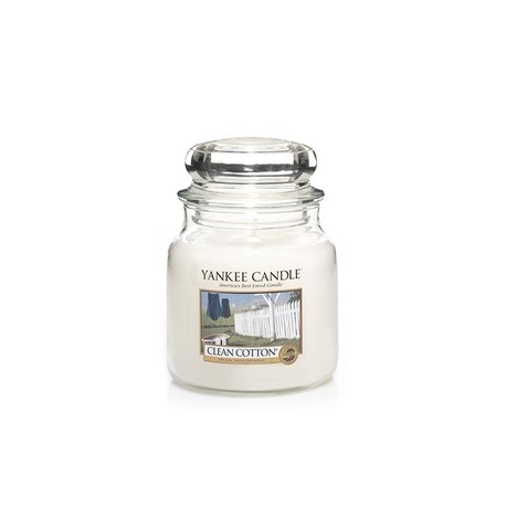 Yankee Candle - Jarre moyenne Clean Cotton